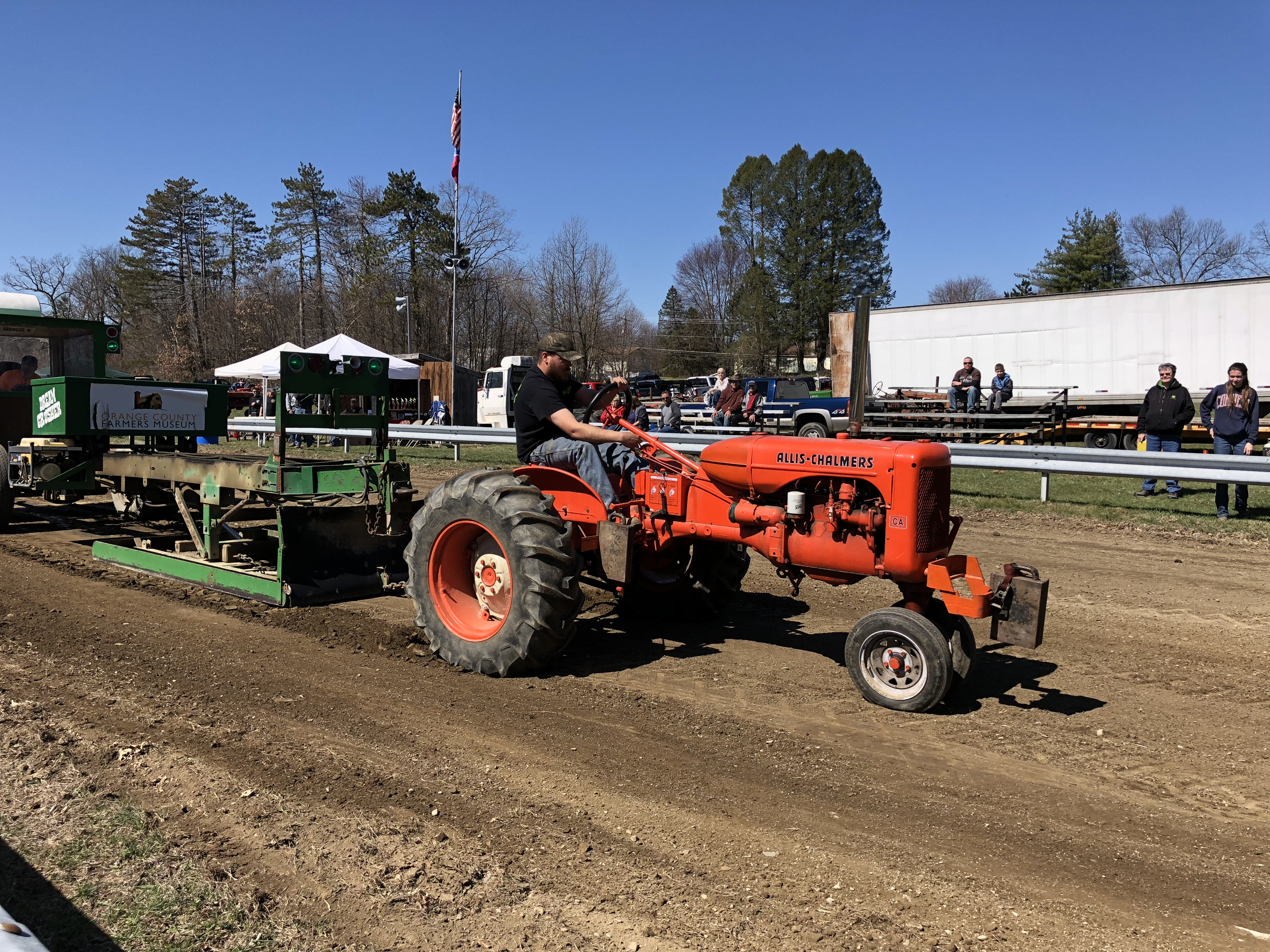 Antique Tractor Pull - Orange County Farmers Museum